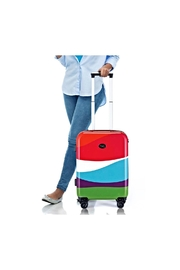 French Bull Carryon Roller Luggage - Back cropped