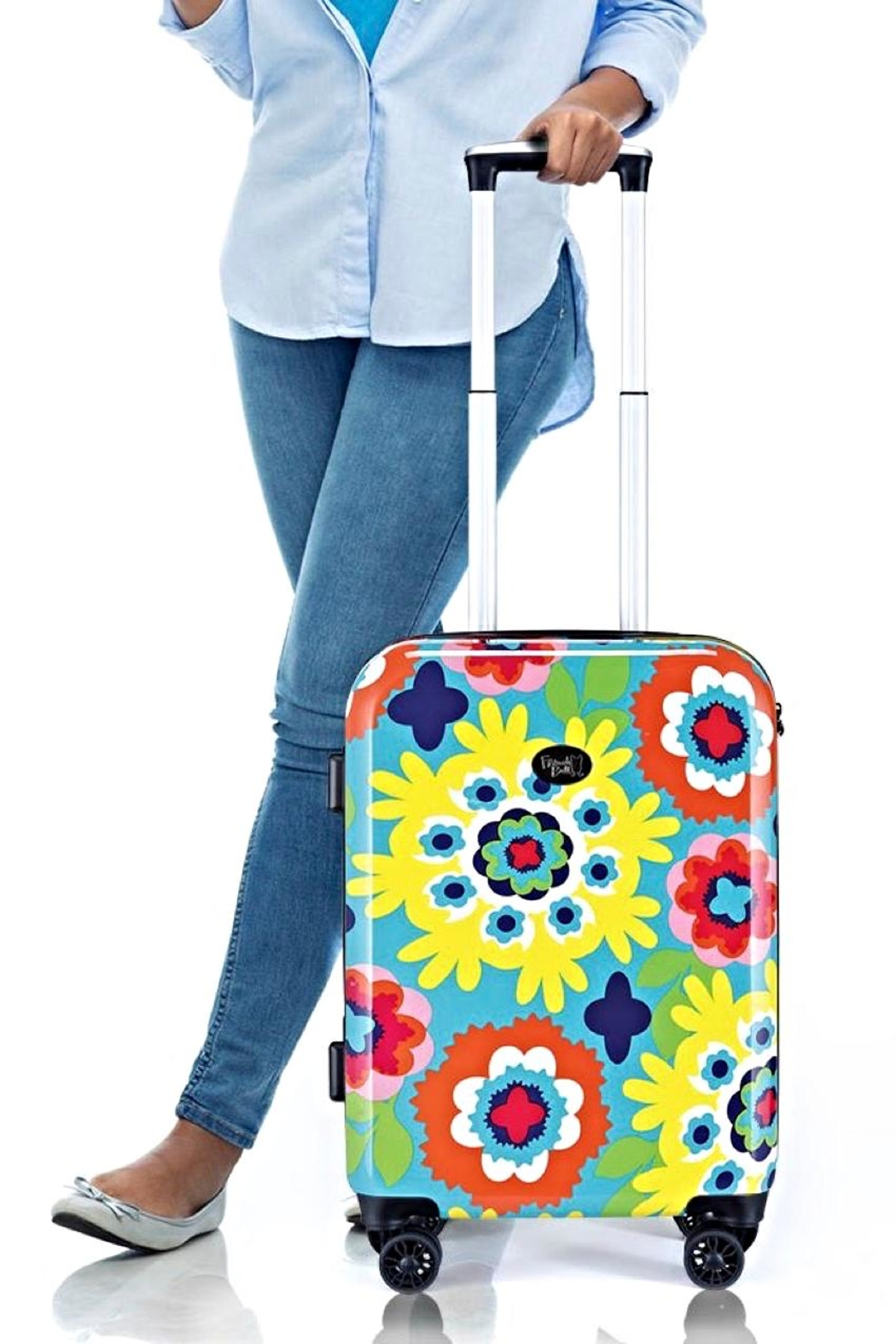French Bull Carryon Roller Luggage - Back Cropped Image