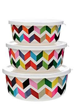 Shoptiques Product: Covered Bowl Trio