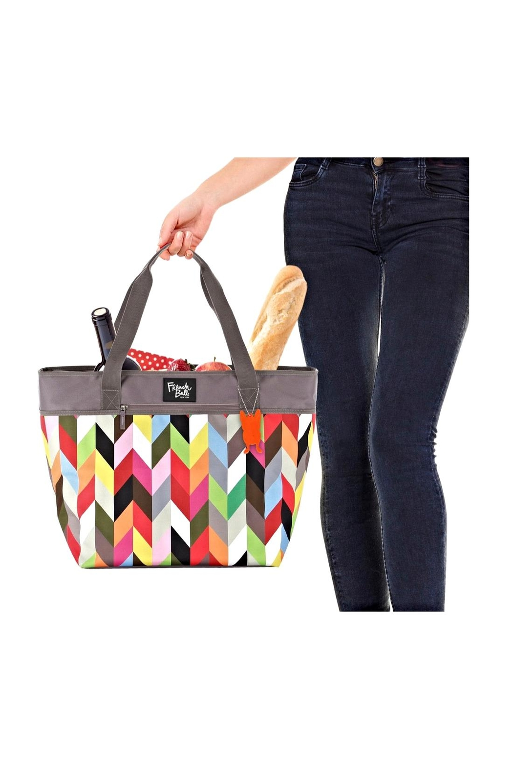 French Bull Insulated Picnic Tote - Side Cropped Image