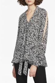 French Connection Anges Crepe Top - Front full body
