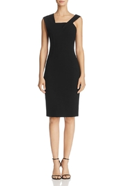 French Connection Asymmetric-Shoulder Dress - Front cropped