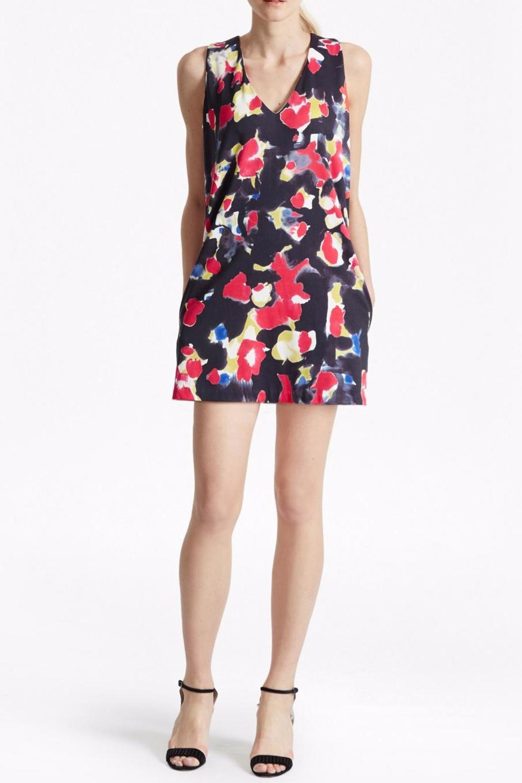 French Connection Bella Floral Dress - Front Cropped Image