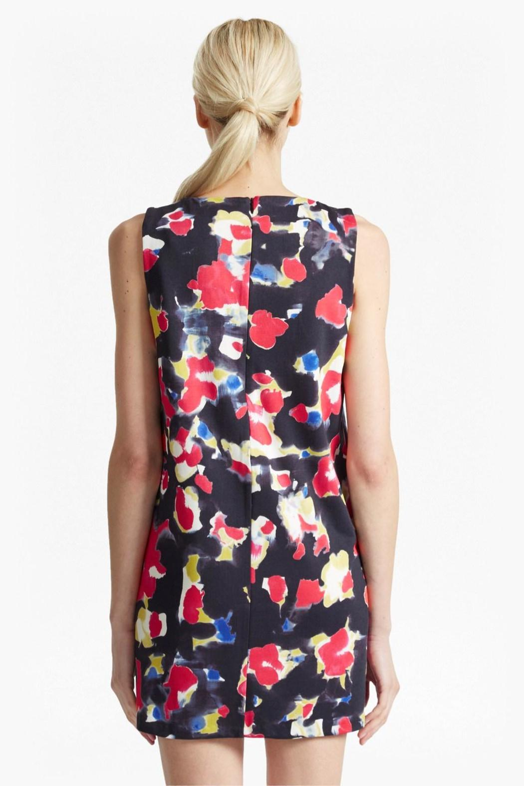 French Connection Bella Floral Dress - Side Cropped Image