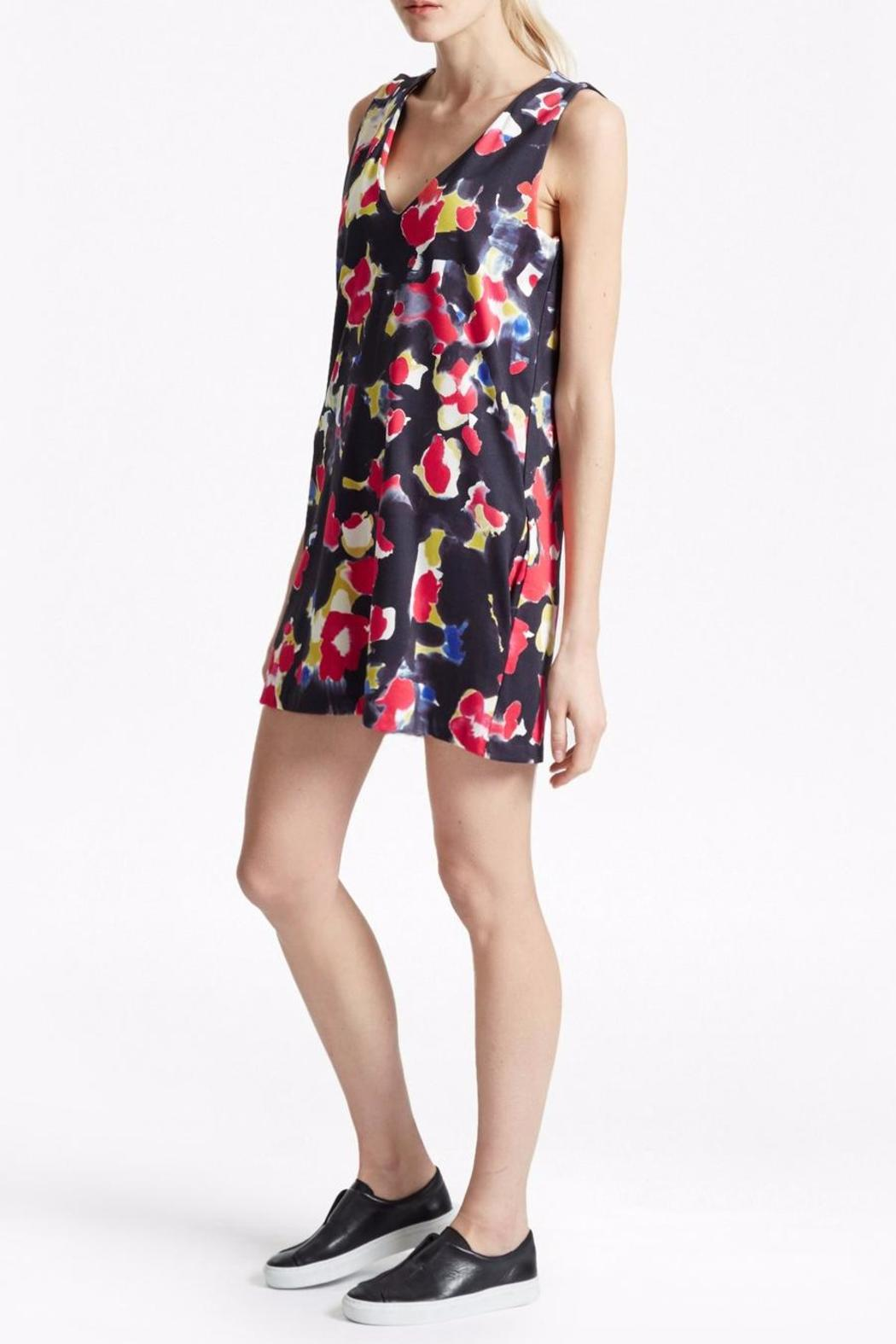 French Connection Bella Floral Dress - Front Full Image