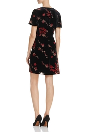 French Connection Burnout Floral Mini-Dress - Front full body