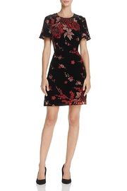French Connection Burnout Floral Mini-Dress - Product Mini Image