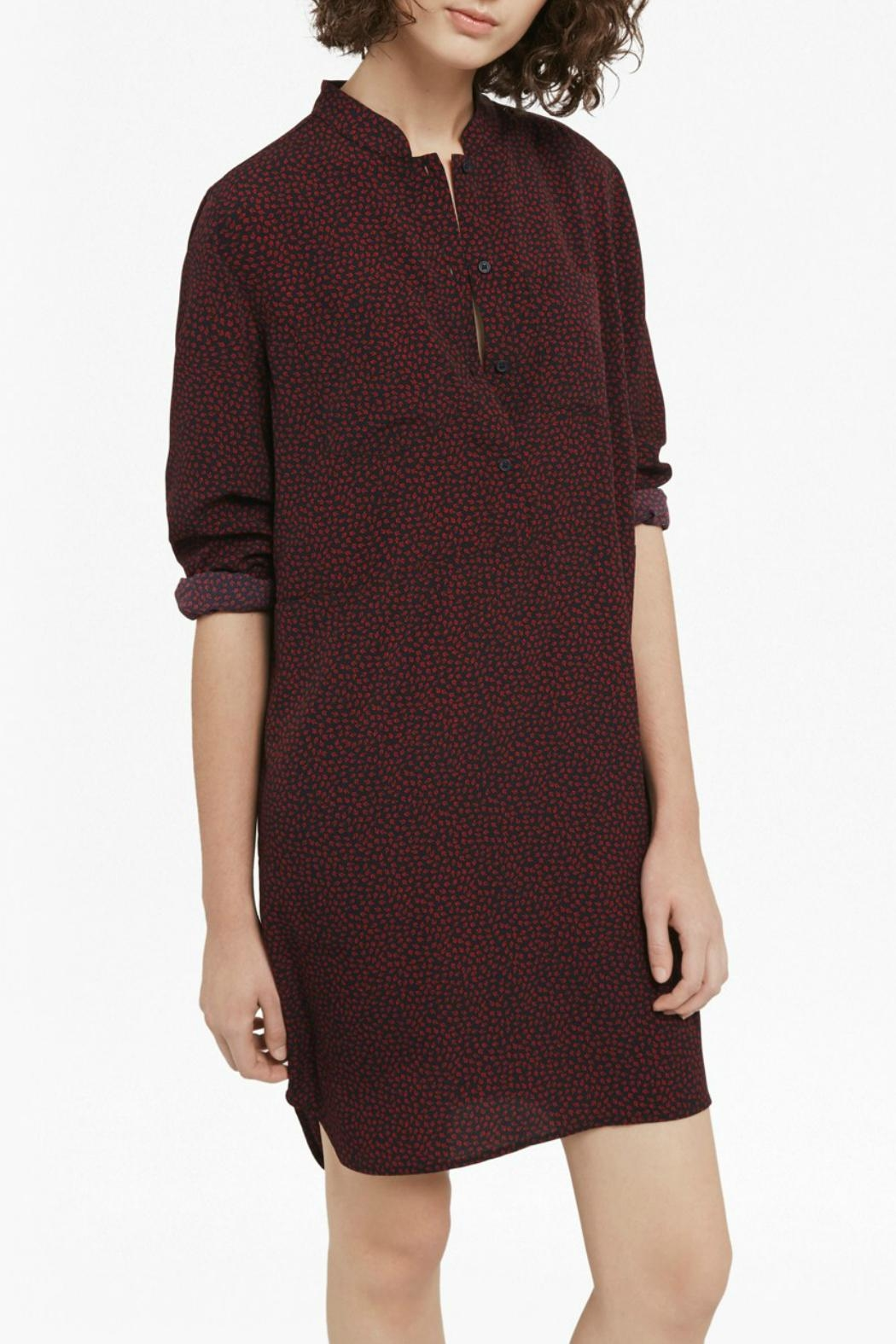 French Connection Callie Shirt Dress - Side Cropped Image