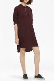 French Connection Callie Shirt Dress - Front full body