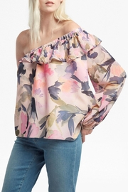 French Connection Catlett Georgette Blouse - Product Mini Image