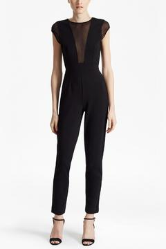French Connection Chiffon Sleeveless Jumpsuit - Product List Image
