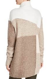 French Connection Color-Blocked Patchwork Sweater - Front full body