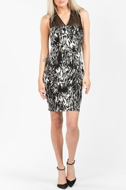 French Connection Copley V Neck Dress - Front cropped
