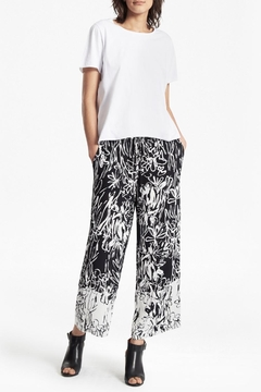 French Connection Crepe Printed Pant - Product List Image