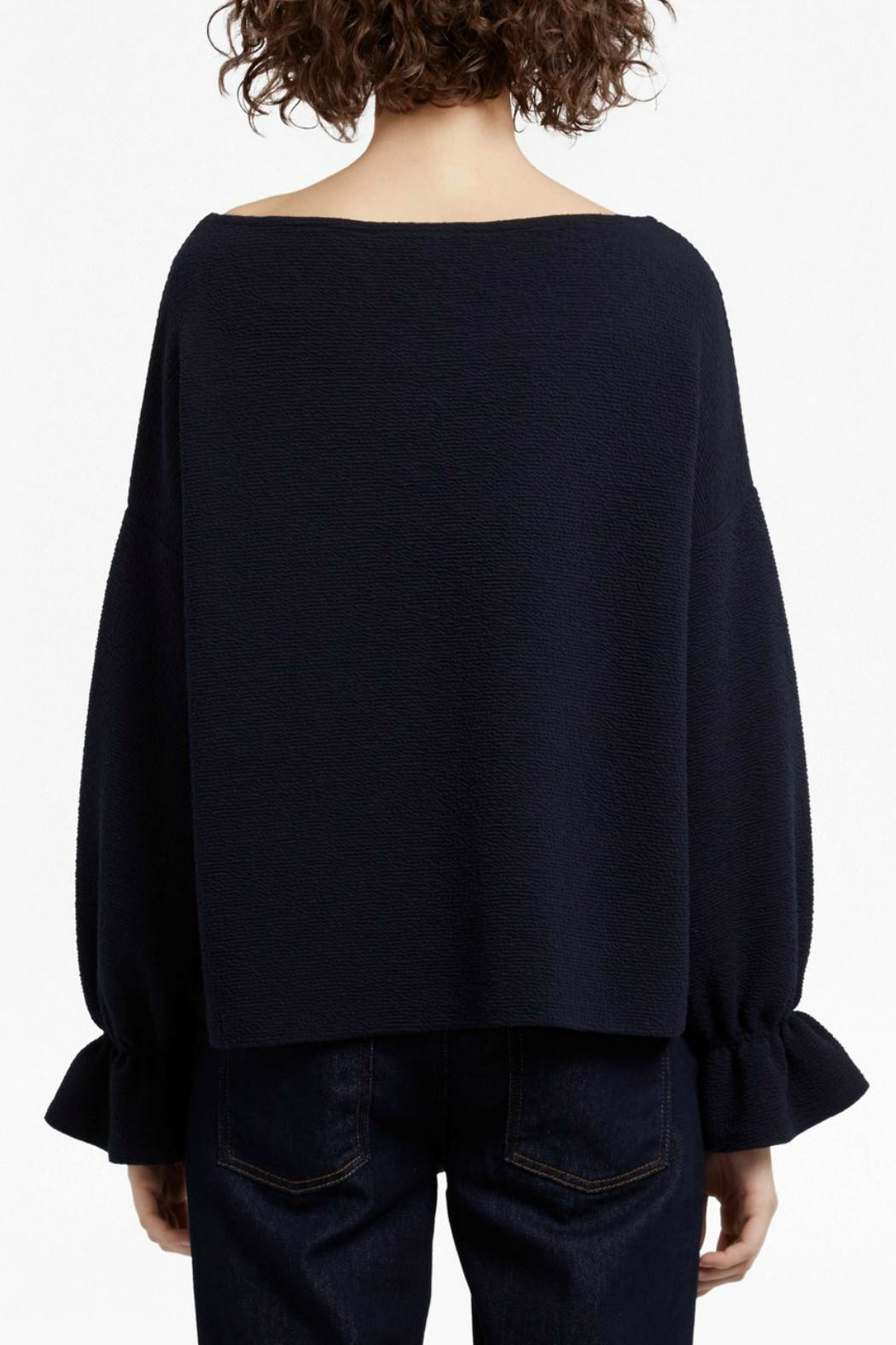 French Connection Ellen Fluted Jumper - Side Cropped Image