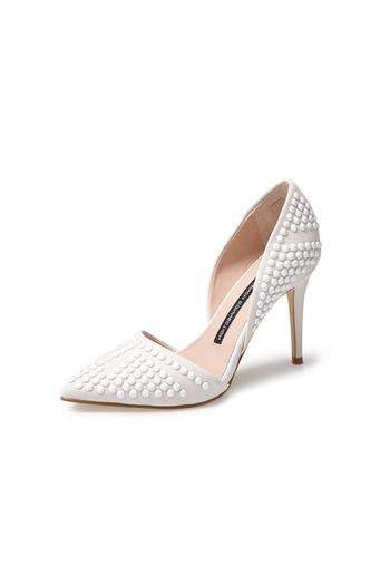 bfe9751bdff French Connection Ellis Winter White Heel from Alexandria by Bishop  Boutique — Shoptiques