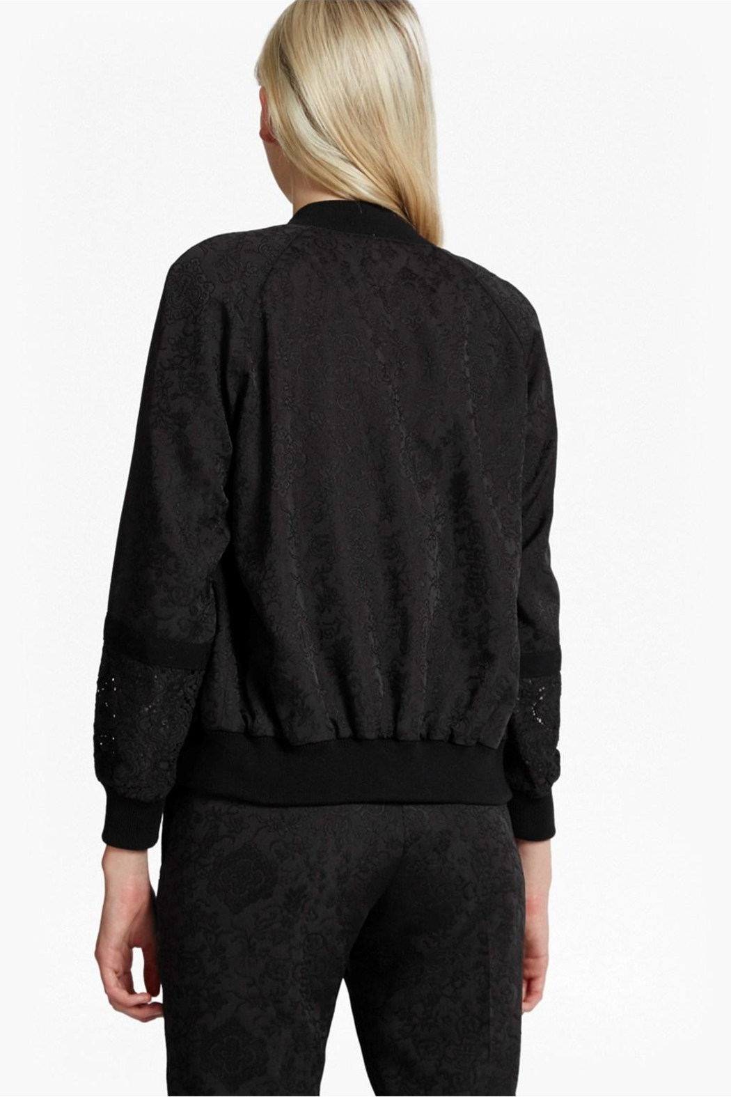 French Connection Francisco Jacquard Bomber - Front Full Image