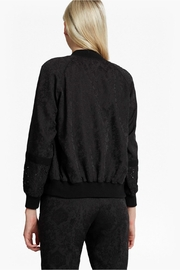 French Connection Francisco Jacquard Bomber - Front full body