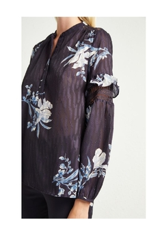 French Connection Floral Frill  Blouse - Alternate List Image