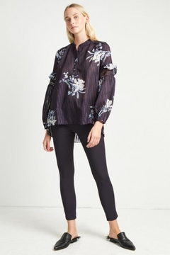 French Connection Floral Frill  Blouse - Product List Image