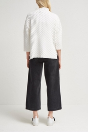 French Connection Knit Oversized Sweater - Back cropped