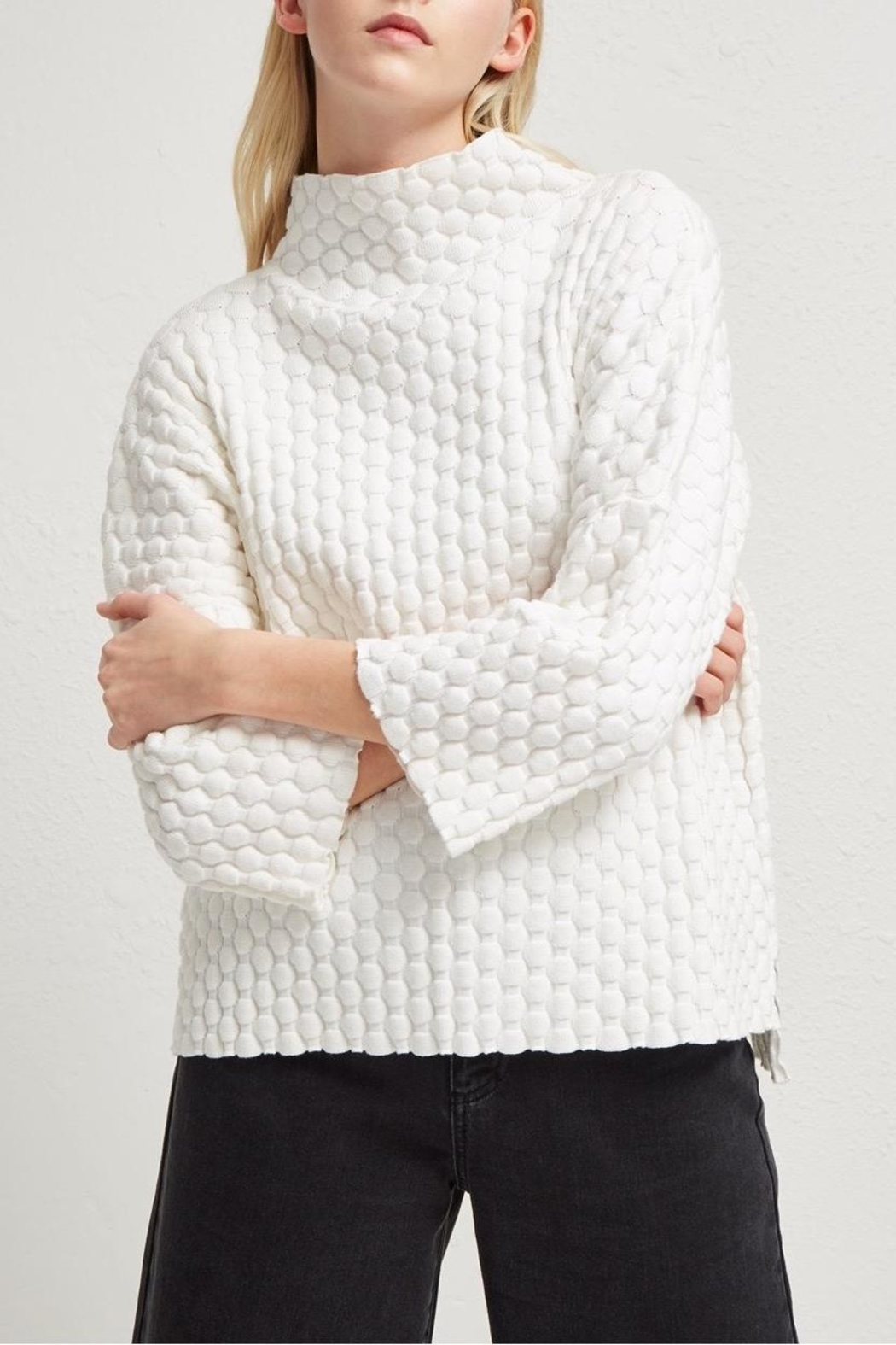 French Connection Knit Oversized Sweater - Main Image