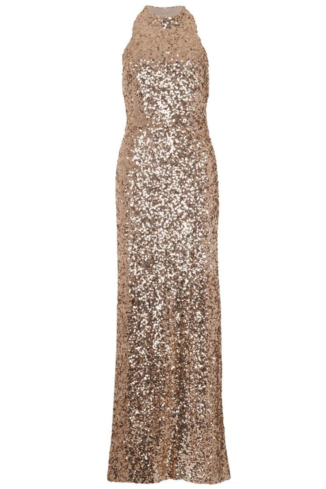 French Connection Lunar Sparkle Gown - Main Image