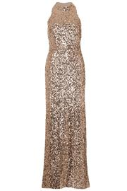 French Connection Lunar Sparkle Gown - Front cropped