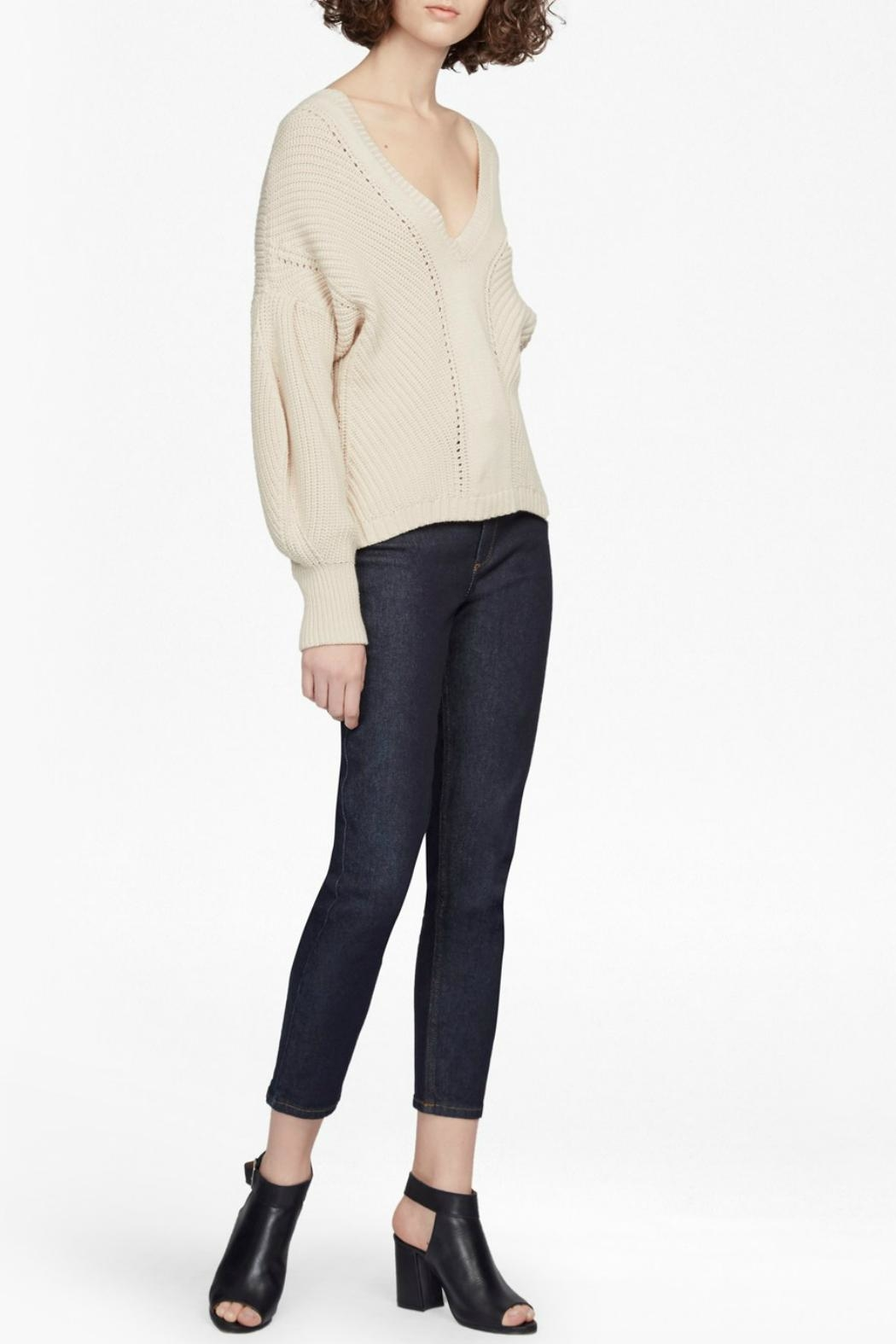 French Connection Millie Knit Sweater - Back Cropped Image
