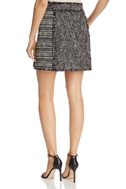 French Connection Mix-Media Mini Skirt - Front full body