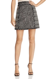 French Connection Mix-Media Mini Skirt - Front cropped