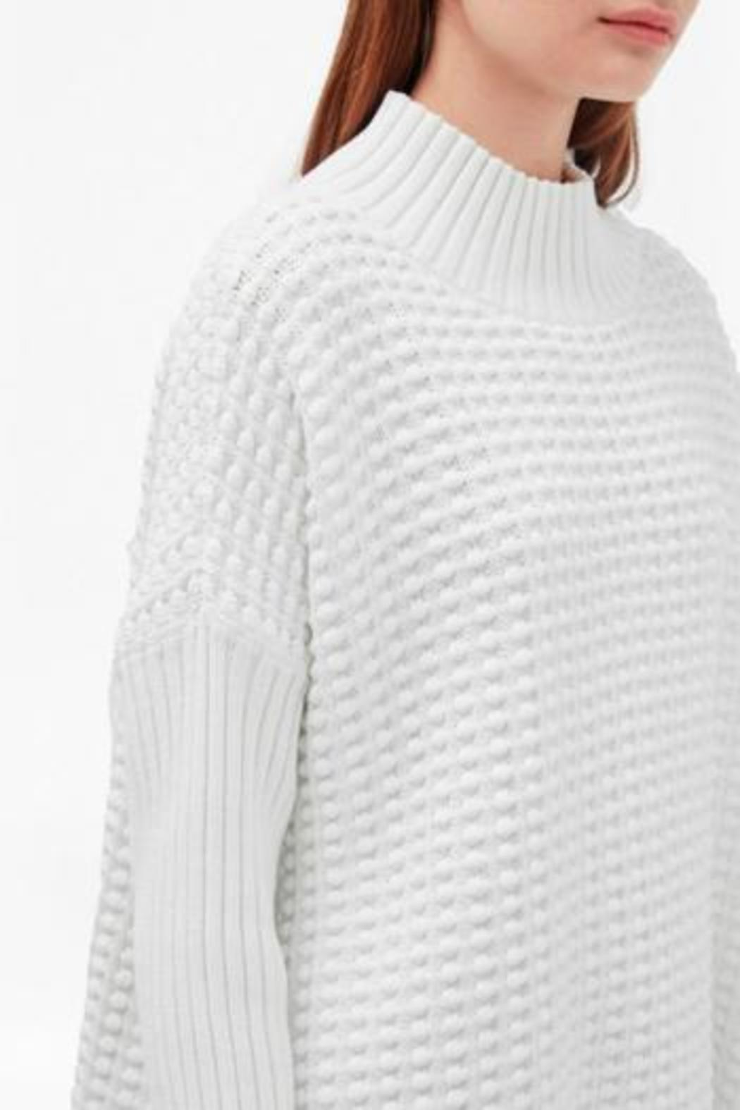French Connection Mock Neck Sweater - Front Cropped Image