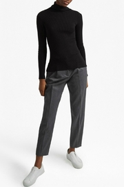 French Connection Mock Ribbed Sweater - Front cropped