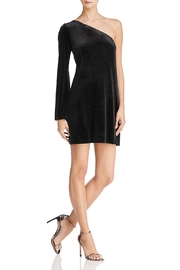 French Connection One-Shoulder Velvet Dress - Product Mini Image