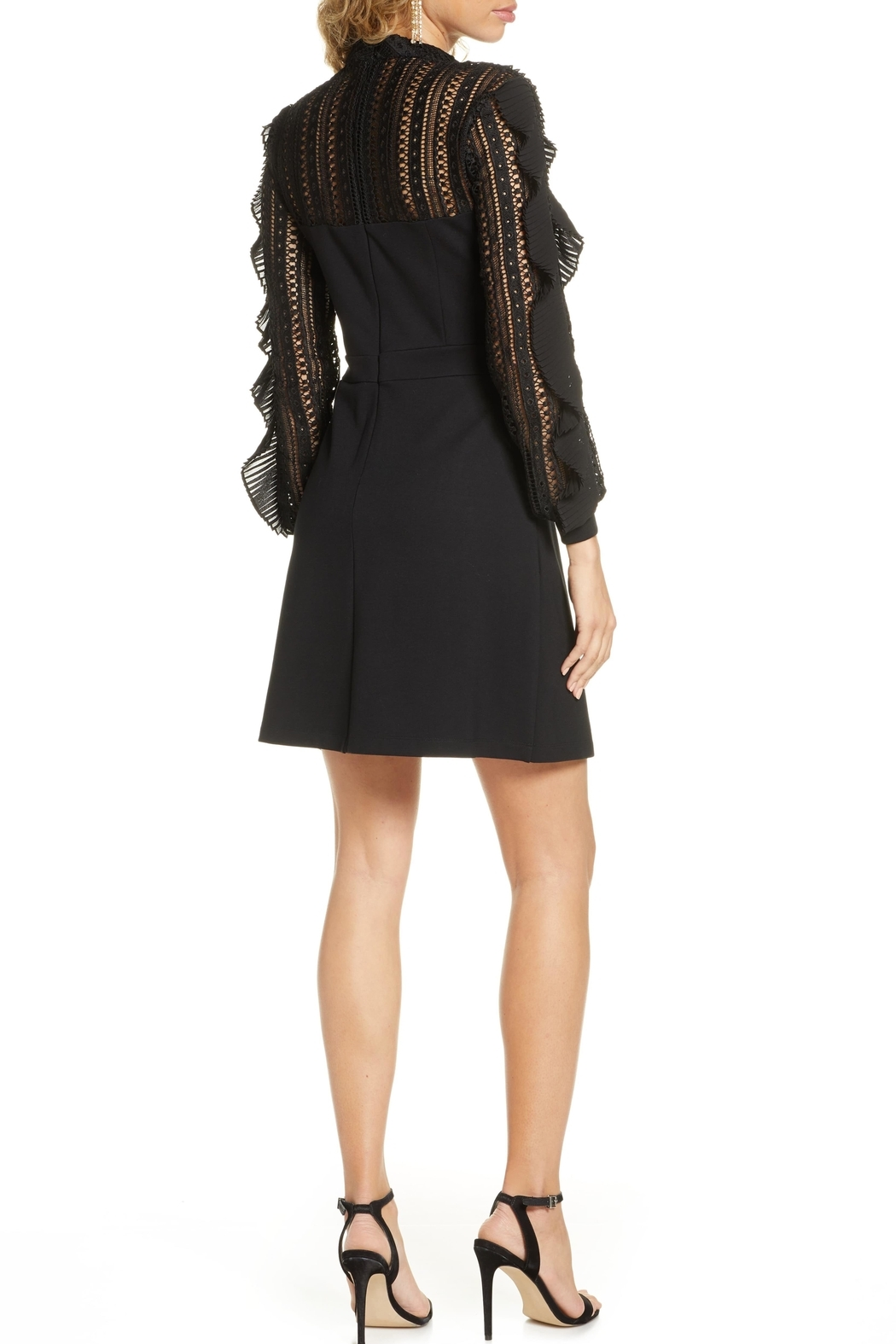 French Connection Patricia Lace Dress - Side Cropped Image