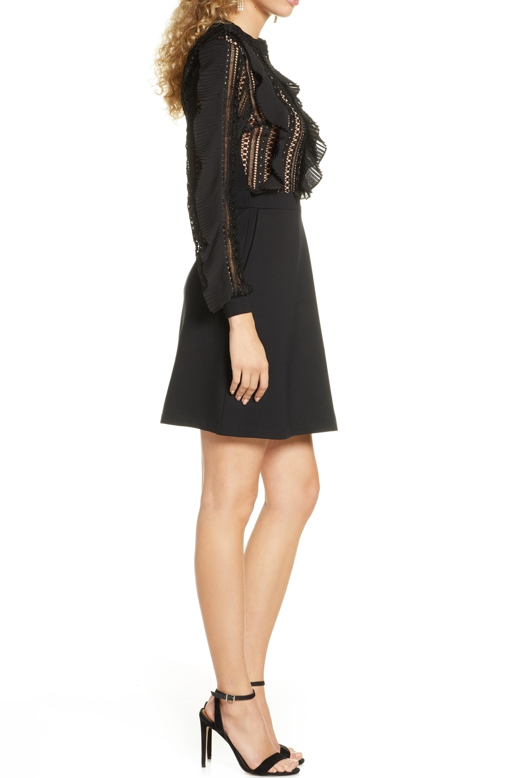 French Connection Patricia Lace Dress - Front Full Image