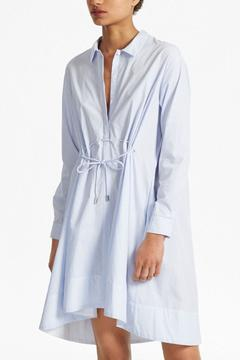 French Connection Pinstripe Shirt Dress - Product List Image