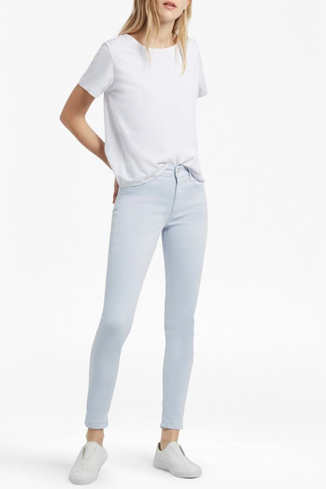 French Connection Rebound Skinny Jean - Side Cropped Image