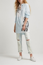 French Connection Serrana Stripe Shirt/dress - Product Mini Image