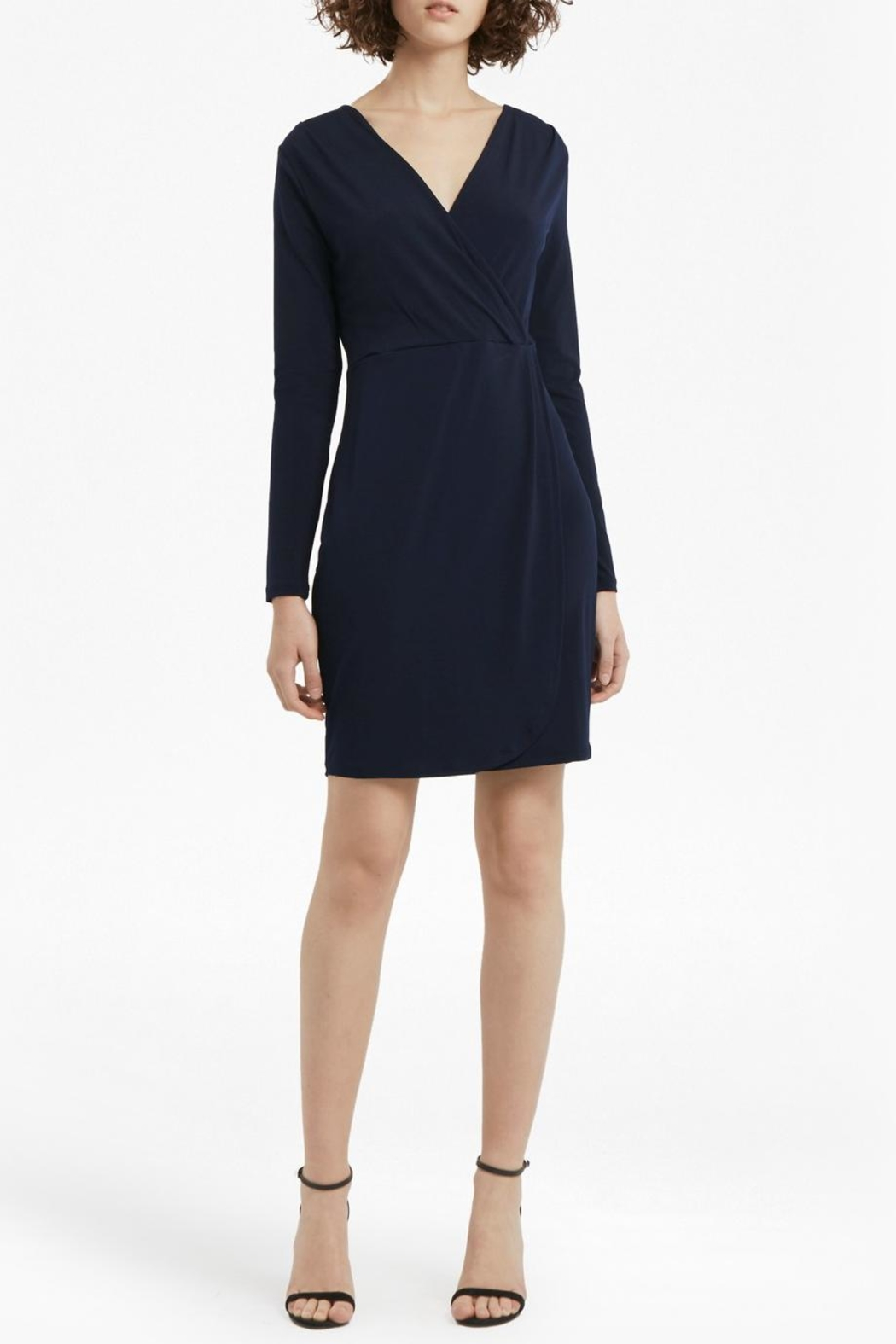 French Connection Slinky Sheath Dress - Side Cropped Image