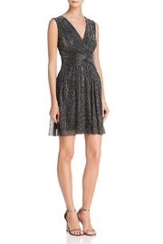 French Connection Sparking Metallic Dress - Front cropped