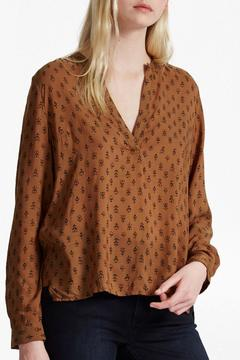 French Connection Stepped Hem Shirt - Product List Image