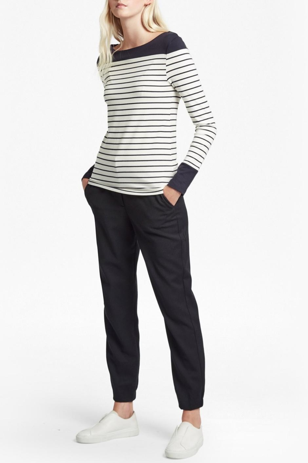 French Connection Striped Breton Tshirt - Side Cropped Image