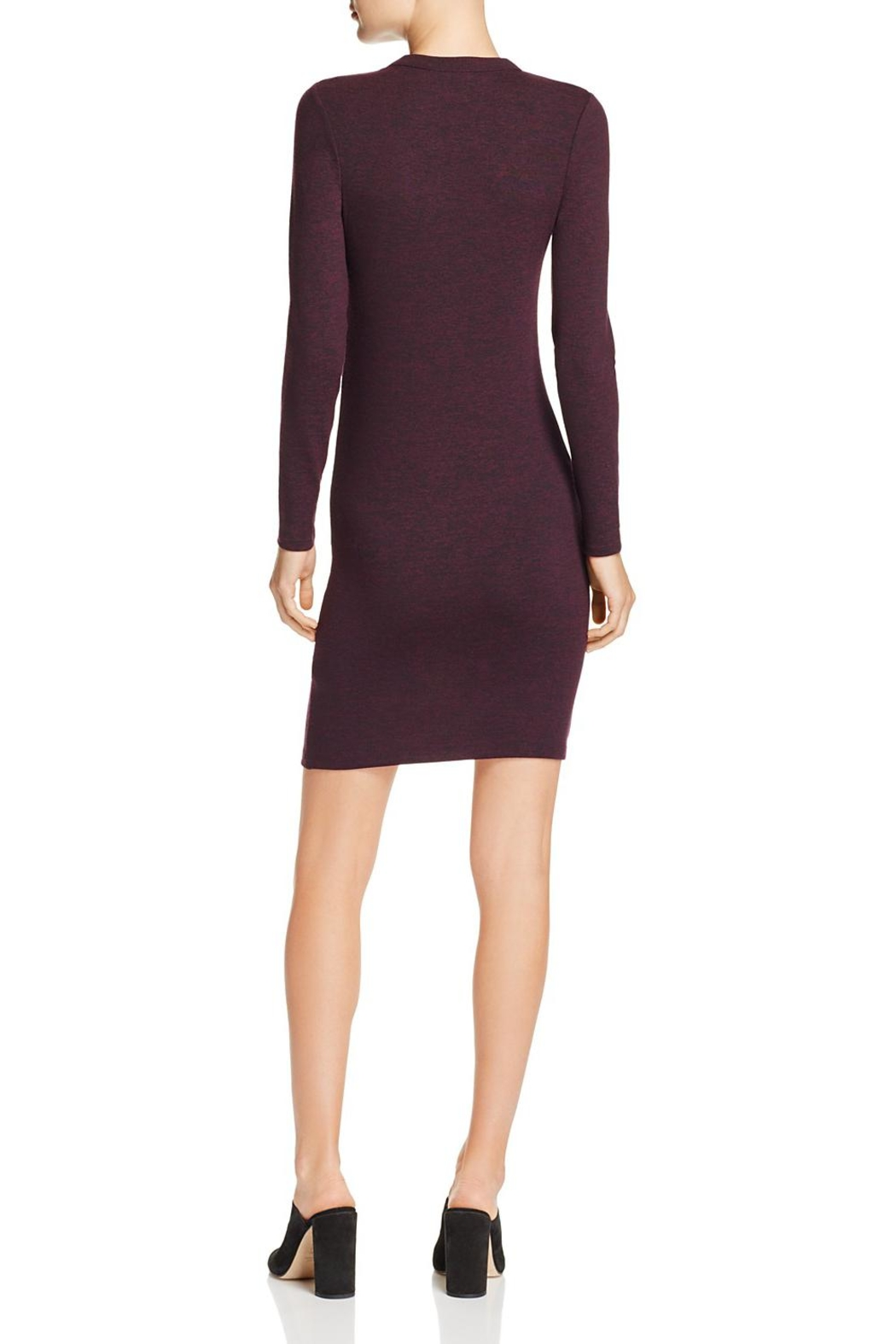 French Connection Sweeter Sweater Mini-Dress - Front Full Image