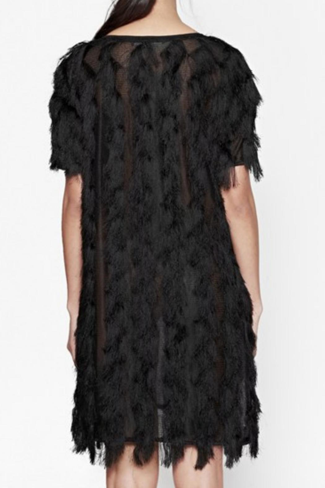 French Connection Tassel Valley Dress - Back Cropped Image