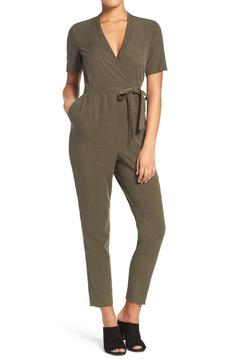 Shoptiques Product: Trooper V Neck Jumpsuit