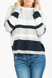 French Connection Varsity Vhari Knit Jumper - Product Mini Image