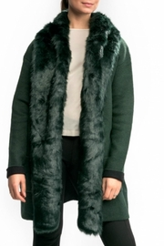 French Connection Vhri Fur Coatigan - Front cropped