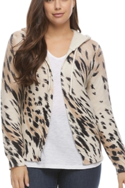 French Dressing Jeans Animal Print Hooded Cardie - Product Mini Image