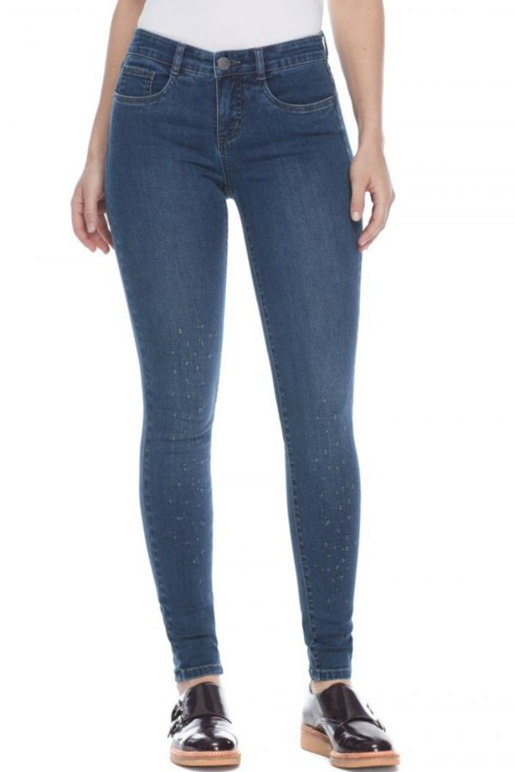 French Dressing Jeans Crystal Slim Jeans - Main Image